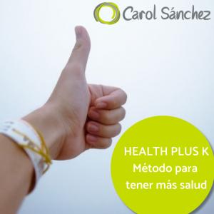 método probado para tener más salud de manera consciente y natural